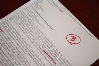 Do you think I was graded fairly?